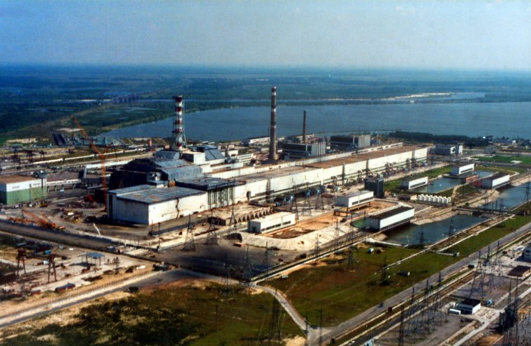 história real de Chernobyl usina