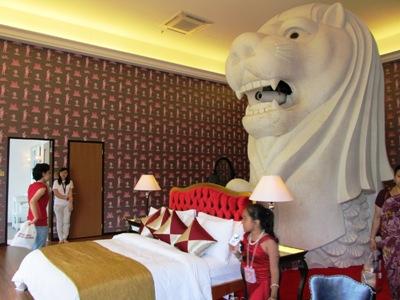inside the merlion hotel