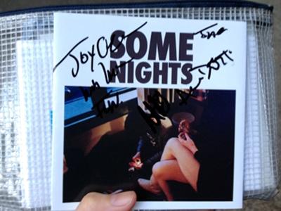 fun. autograph