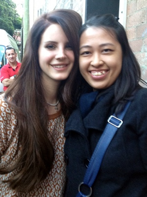 with Lana Del Rey