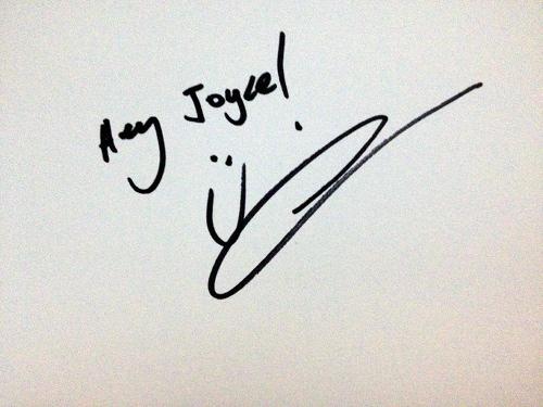 Gotye autograph