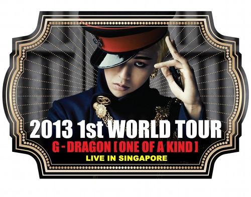 G-Dragon World Tour Singapore Poster