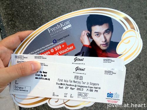Hyun Bin Live in Singapore!