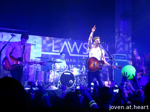 Lawson Showcase in Singapore (2013)