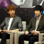 CN Blue World Tour: Blue Moon Singapore Press Conference