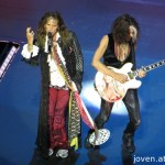 Steven Tyler and Joe Perry at the Social Star Awards 2013