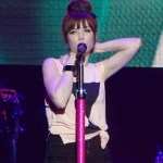 Carly Rae Jepsen at the Singapore Social concert