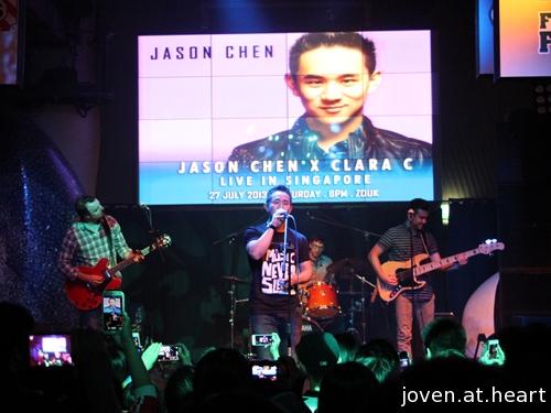 Jason Chen live in Singapore 2013