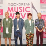 Teen Top at MBC Korean Music Wave Singapore concert Press Conference