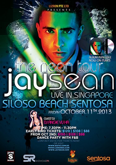 Jay Sean Singapore concert 2013