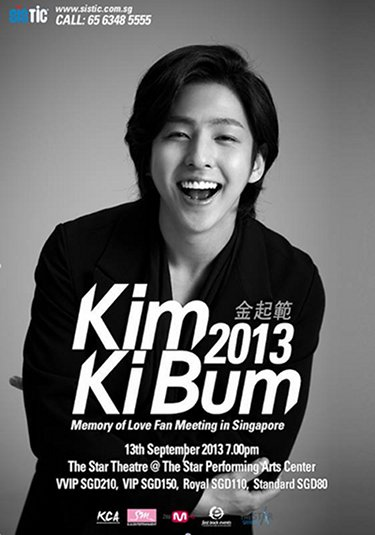 Kim Ki Bum Fan Meeting Singapore 2013