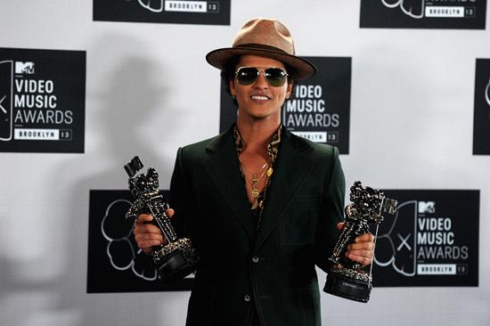 2013 MTV Video Music Awards -- Bruno Mars