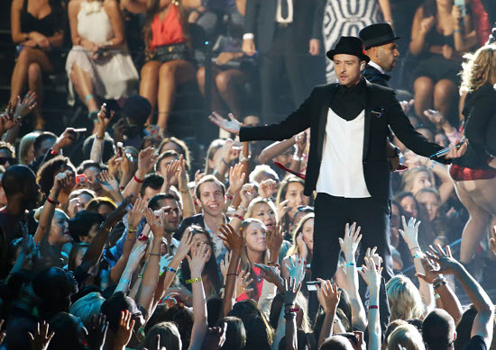 2013 MTV Video Music Awards - Justin Timberlake