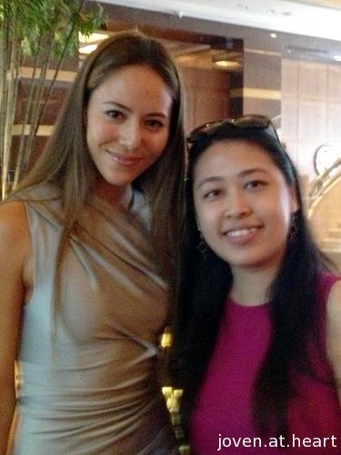 Jessica Michibata in Singapore 2013