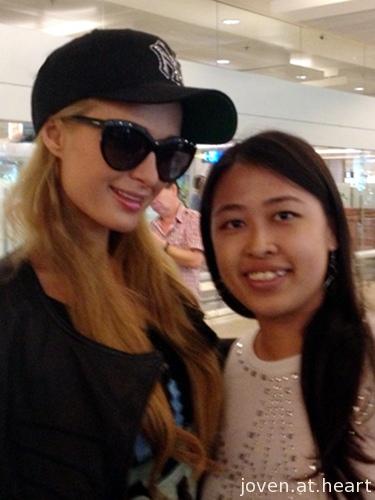 Paris Hilton in Singapore 2013