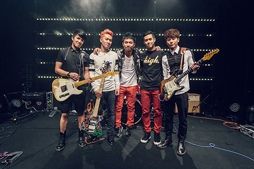 MTV Sessions: Ming Bridges opening band - EMPTY (HK) (photo: MTV Asia/Aloysius Lim)