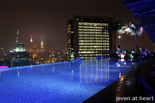 Pool @ Aloft KL Sentral