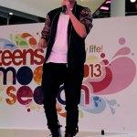 Derrick Hoh at Teens Model Search 2013