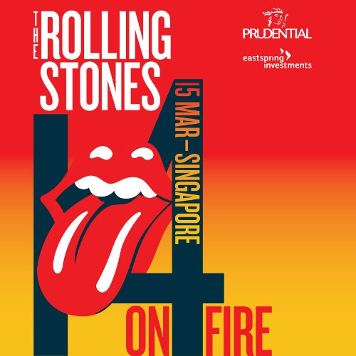 The Rolling Stones 1 4 on Fire Singapore 2014