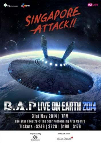 B.A.P. Live On Earth Singapore 2014