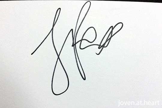 Jamie Foxx autograph