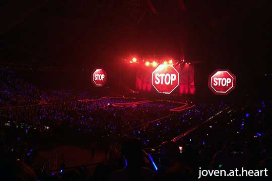 CN Blue Can't Stop Singapore 2014