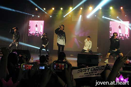 BIGSTAR @ KNation Showcase Manila 2014