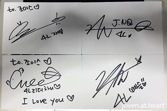 4Ladies autograph