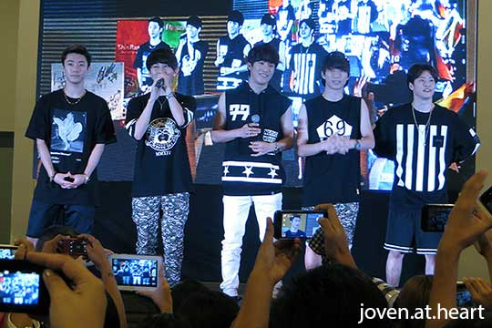 Bigstar @ KNation Kpop Fair, Manila 2014