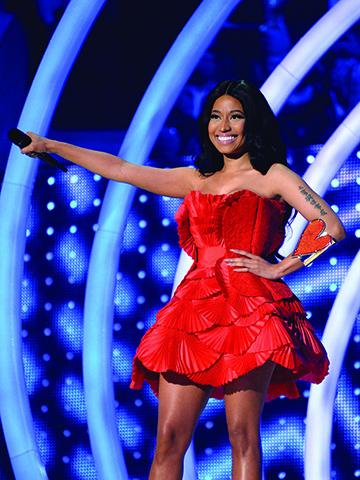 Nicki Minaj @ MTV EMA 2014 (© Getty Images for MTV)