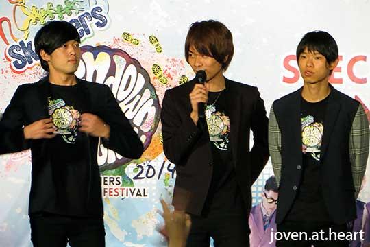 WEAVER @ Sundown Festival 2014 Fan Meet (Singapore)