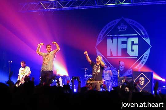 New Found Glory Singapore 2015