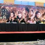 Dragon Blade Press Conference, Singapore 2015