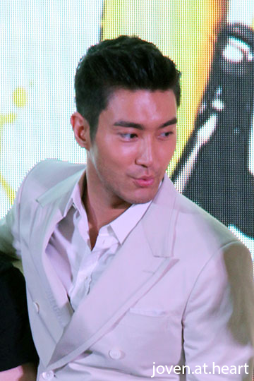 "Super Junior Choi Siwon @ ""To The Fore"" Promotion, Singapore stop"