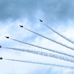 RSAF Black Knights aerial display, Singapore 50th National Day Parade, #SG50