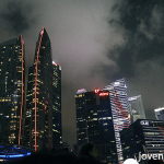 Singapore skyline, Singapore 50th National Day Parade, #SG50
