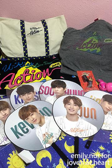 vUKISS Live Action Tour 2015 Japan merchandise