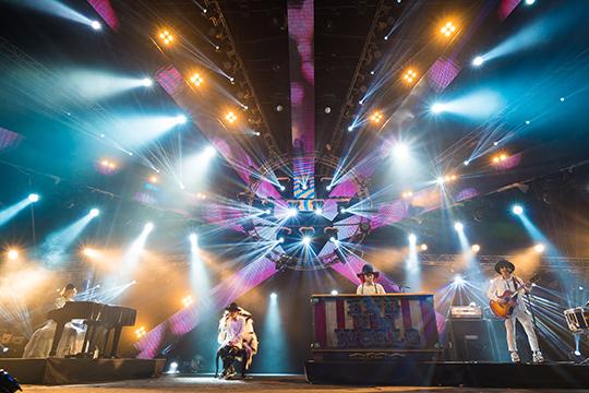 SEKAI NO OWARI @ MTV World Stage Malaysia 2015 (© MTV Asia & Aloysius Lim)