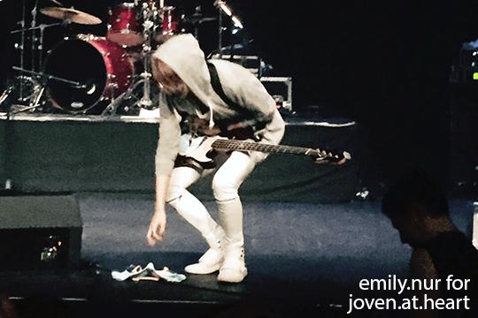 Alice Nine 2015 Re:birth -Tensyou- in Singaproe 2015