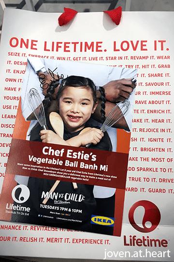 Chef Estie's autograph