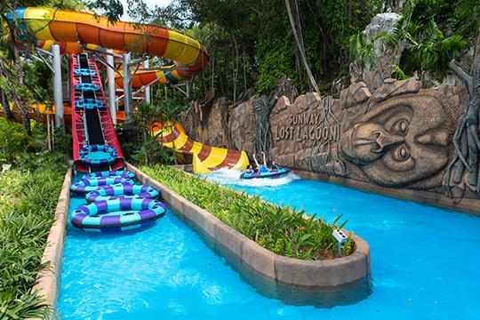 Jungle Fury @ Nicklodeon Lost Lagoon, Sunway Lagoon