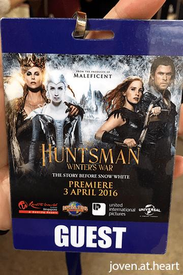 """""""Huntsman: Winter's War"""" Gala Premiere in Singapore 2016"""