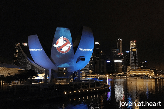 Ghostbusters (2016) Promotions in Singapore