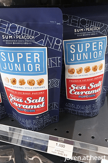 Super Junior Sea Salt Caramel Popcorn