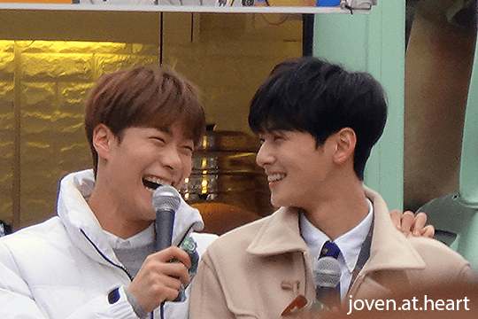 Moon Bin & Cha Eun Woo @ Astro Music Core Mini Fan Meeting