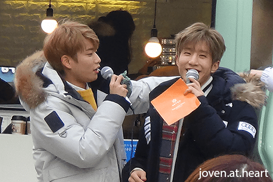 MJ & Jinjin @ Astro Music Core Mini Fan Meeting