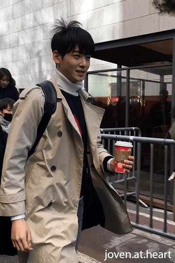 Astro Cha Eun Woo @ KBS
