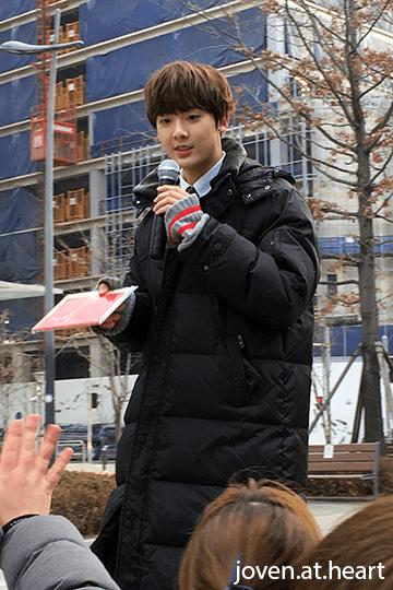 Yoon San Ha @ Astro Music Core Mini Fan Meeting