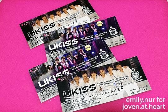U-Kiss Japan Best Live 2016