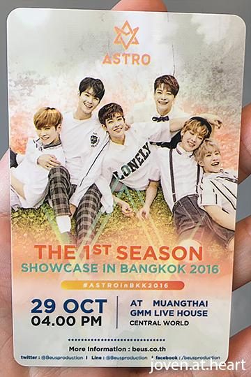 "Astro ""The 1st Season"" Showcase in Bangkok 2017"